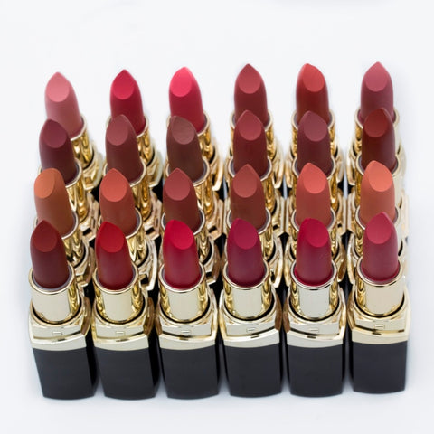 Waterproof Matte Lipstick Nude Brown Batom Velvet Lips Tint