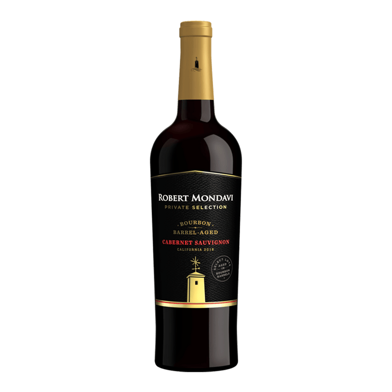 羅伯蒙岱維 酒莊特選 波本桶卡本內蘇維濃紅酒 || Robert Mondavi Private Selection Bourbon Barrel-Aged Cabernet Sauvignon 葡萄酒 Robert Mondavi 羅伯蒙岱維酒莊