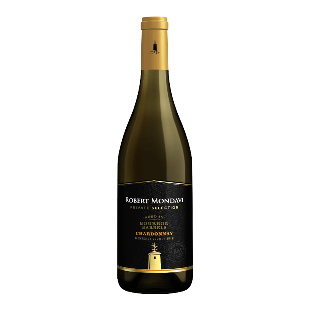 羅伯蒙岱維 酒莊特選 波本桶夏多內白酒 || Robert Mondavi Private Selection Bourbon Barrel-Aged Chardonnay 葡萄酒 Robert Mondavi 羅伯蒙岱維酒莊