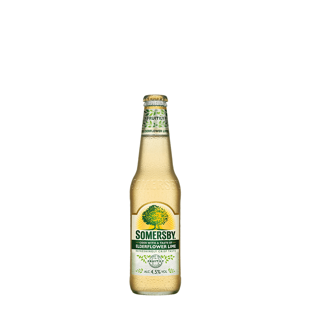 SOMERSBY夏日蜜接骨木花 (24瓶) || Somersby Elderflower 啤酒 Somersby 夏日蜜