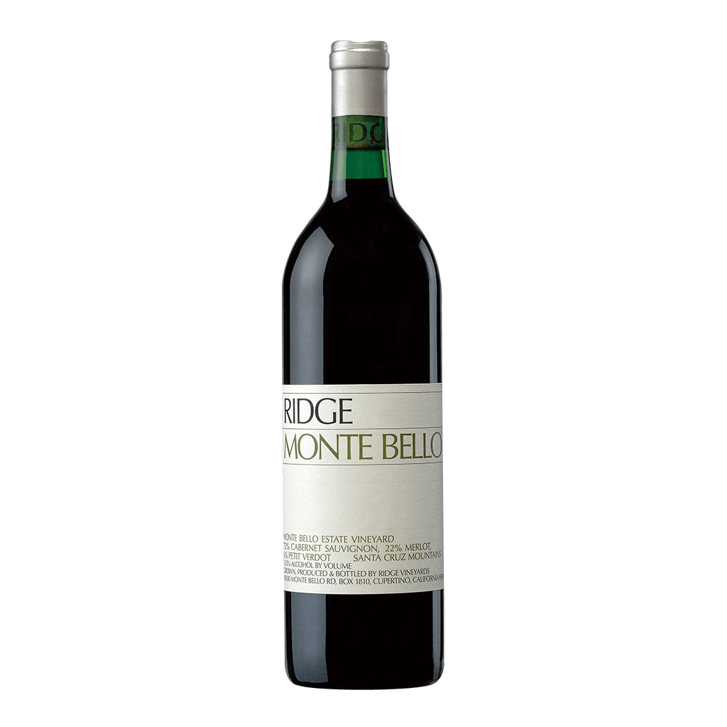 利吉 蒙特貝羅莊園紅酒17 || Ridge Monte Bello 葡萄酒 Ridge Vineyards 利吉