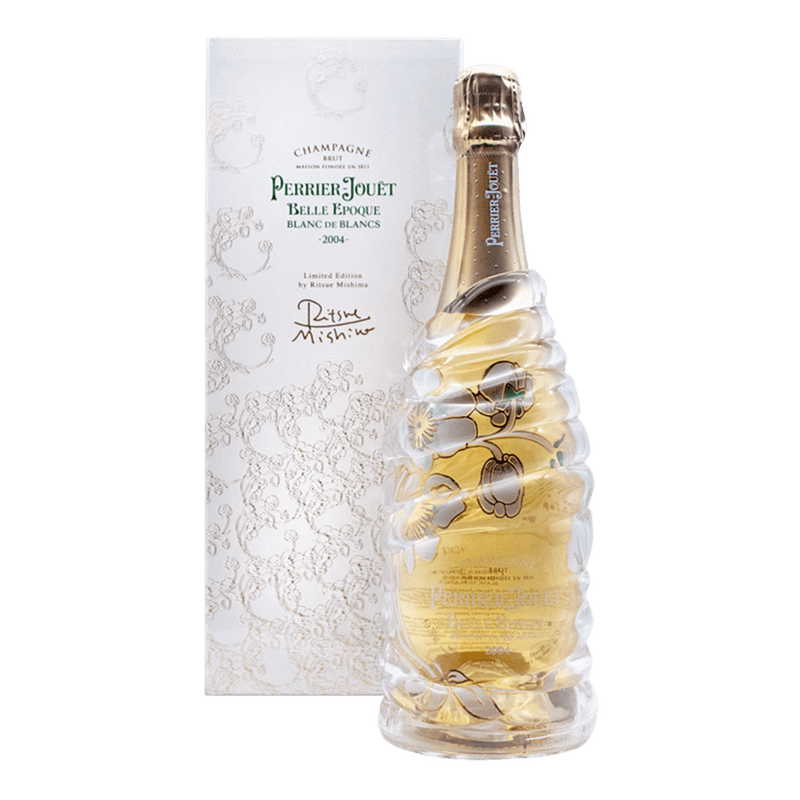 皮耶爵花樣年華白中白2004藝術限量瓶 || Perrier Jouet Belle Epoque Blanc De Blancs Limited Edition