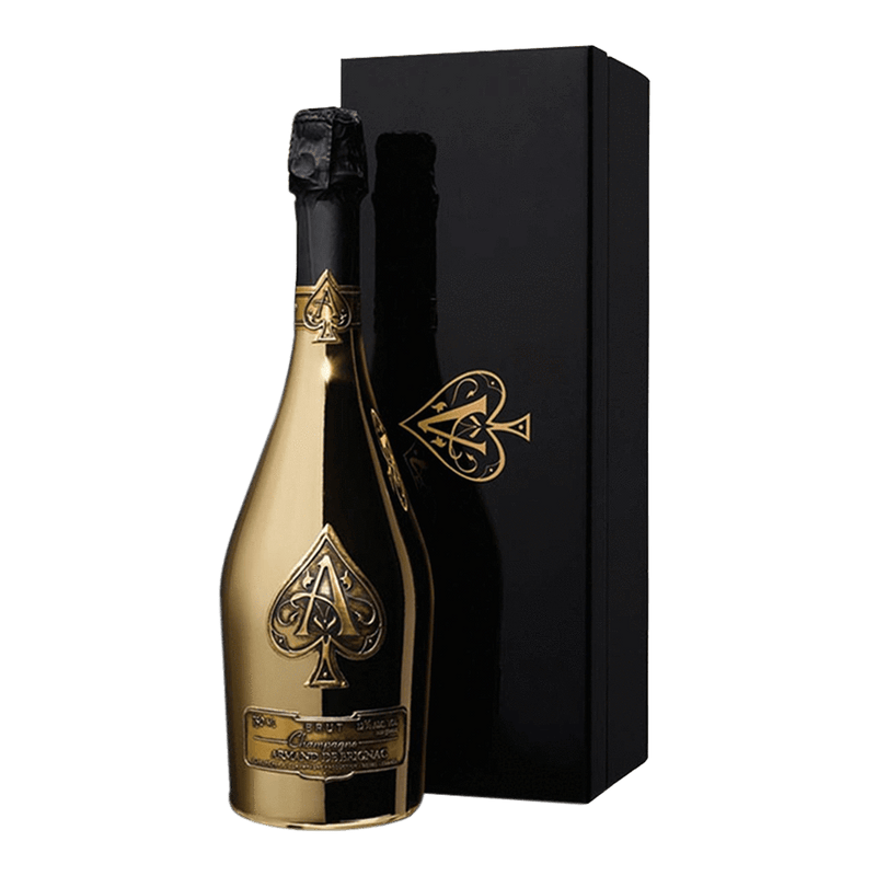 黑桃王璀璨金香檳 || Armand De Brignac,Ace Of Spades Brut Gold 香檳氣泡酒 Armand De Brignac 黑桃王