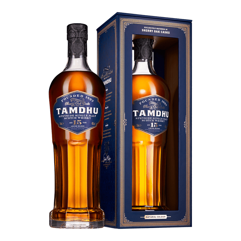 坦杜 15年雪莉桶單一麥芽威士忌 || TAMDHU 15Y LIMITED RELEASE SPEYSIDE SHERRY CASK SINGLE MALT SCOTCH WHISKY 威士忌 Tamdhu 坦杜