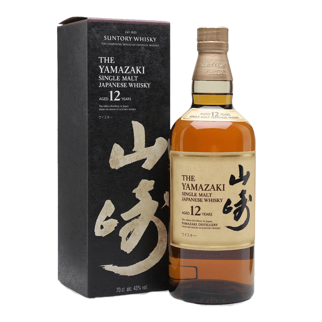 山崎12年 || Suntory Single Malt Whisky Yamazaki 12 Years Old 威士忌 Yamazaki 山崎