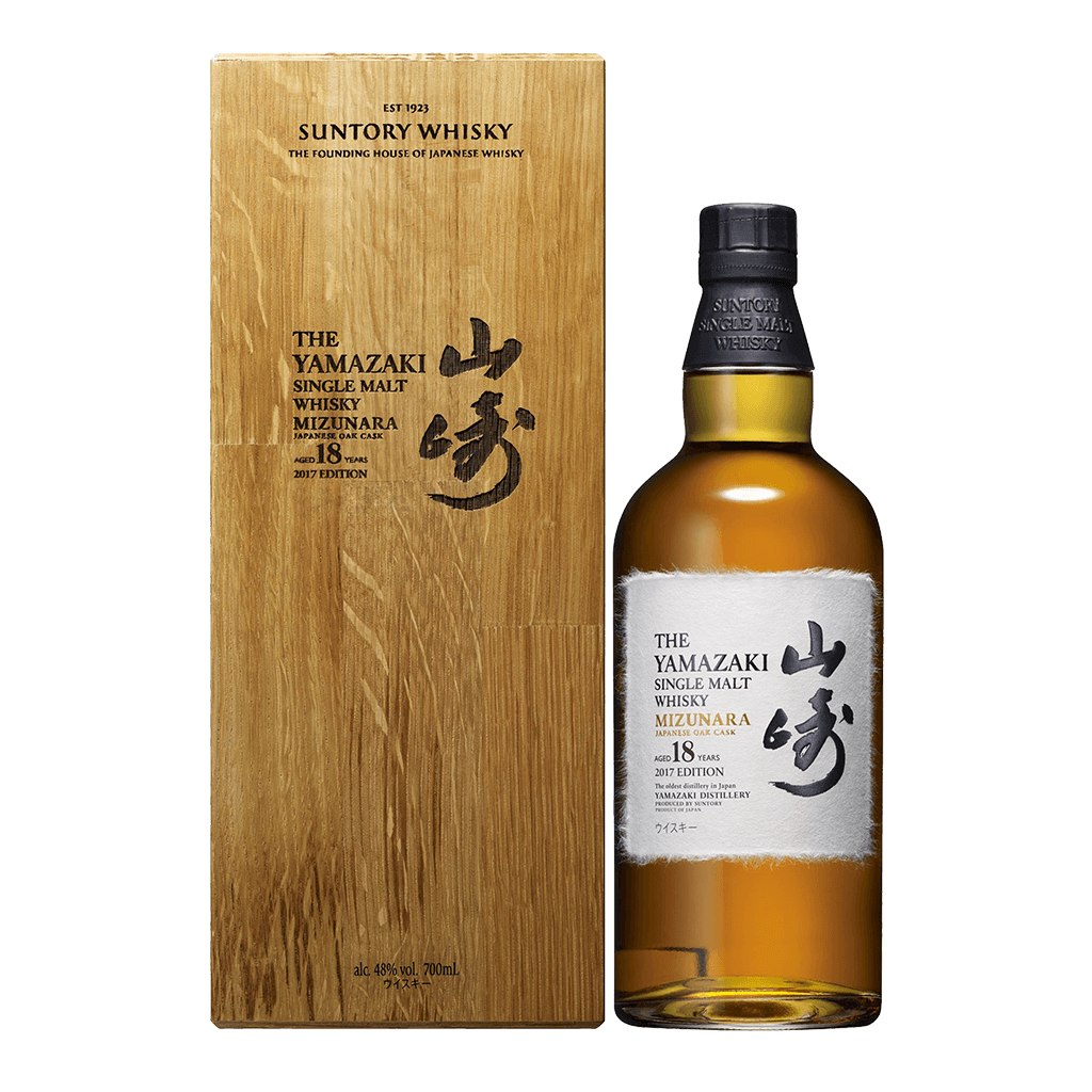 山崎 水楢桶18年(2017年版) || The Yamazaki Mizunara Japanese Oak Cask Aged 18 Years 2017 Edition 威士忌 Yamazaki 山崎