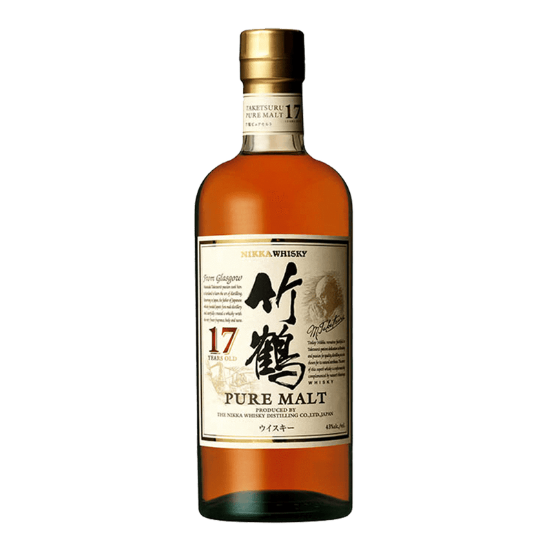 竹鶴17年威士忌 || Nikka Whisky Taketsuru Pure Malt 17 Years Slim Bottle 威士忌 Nikka 竹鶴