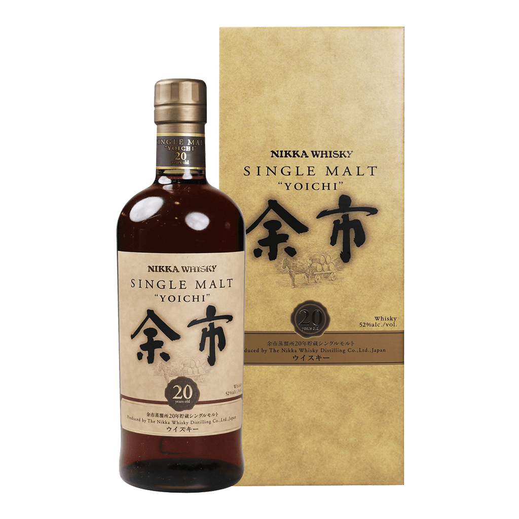 余市20年威士忌 || Nikka Whisky Single Malt Yoichi 20Years 威士忌 Yoichi 余市