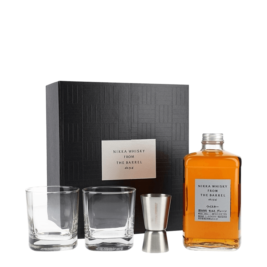 NIKKA 單桶原酒威士忌禮盒 || Nikka From The Barrel Double Matured Blended Gift Set 威士忌 Nikka 竹鶴