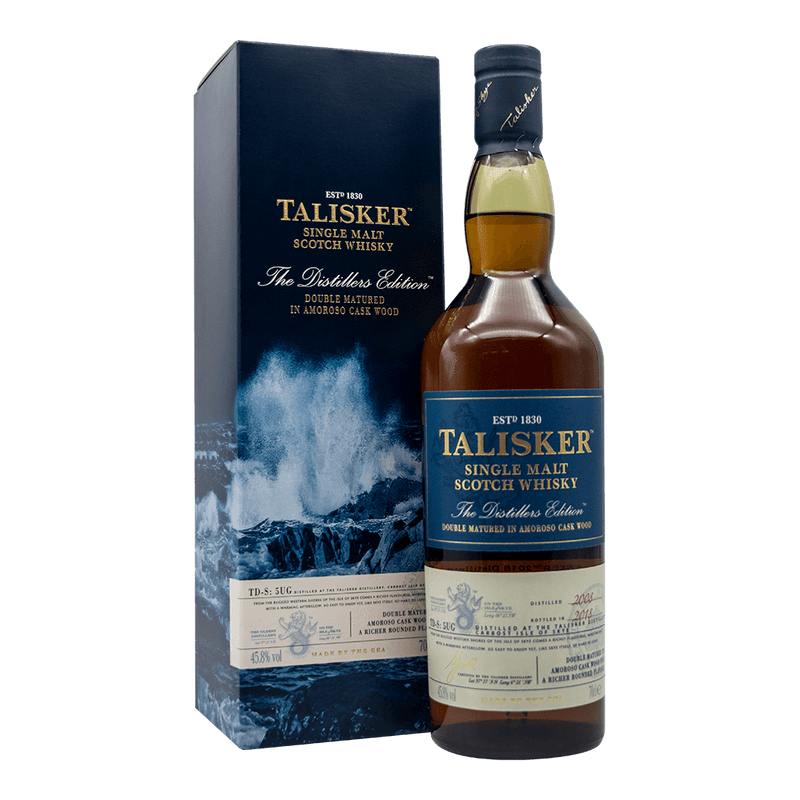 大力斯可 2018酒廠限量版 || Talisker 2018 Distillers Edition Double Matured 威士忌 Talisker 大力斯可