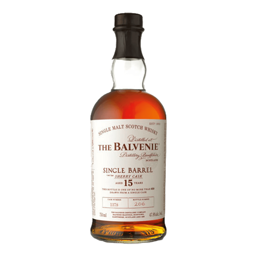 百富15年單一雪莉桶 || The Balvenie Single Barrel Sherry Cask Aged 15 Years 威士忌 Balvenie 百富