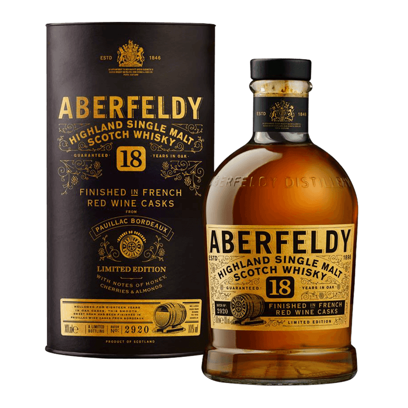 艾柏迪 15年特仕版 || Aberfeldy 15Y French Red Wine Cask Finish Limited Edition 威士忌 Aberfeldy 艾伯迪