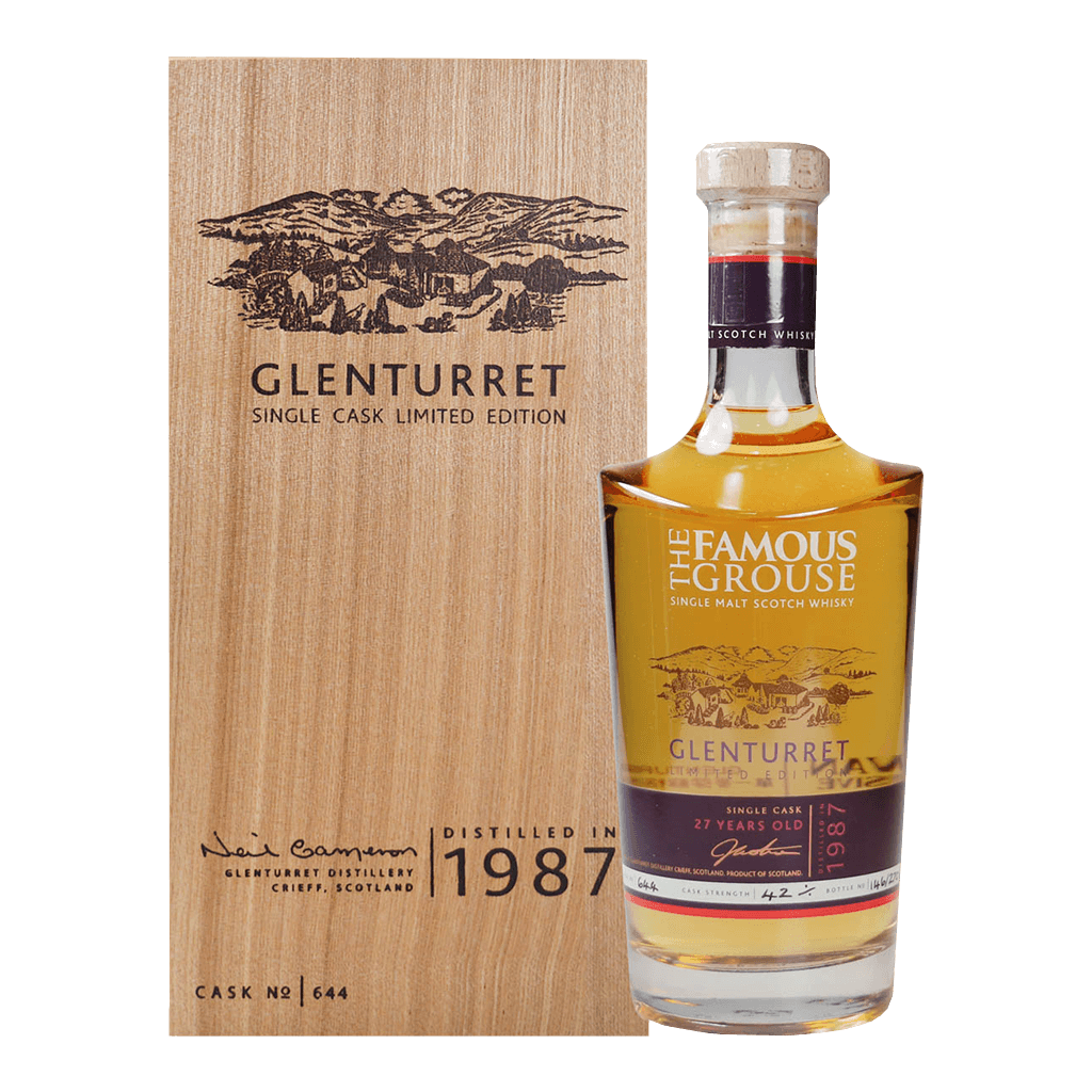 陀崙特1987限量原桶#644 || Glenturret Single Cask Limited Edition 威士忌 Glenturrent 陀崙特