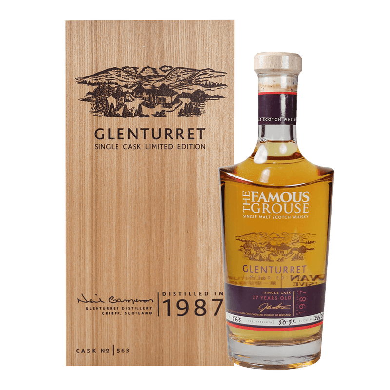 陀崙特1987限量原桶#563 || Glenturret Single Cask Limited Edition 威士忌 Glenturrent 陀崙特
