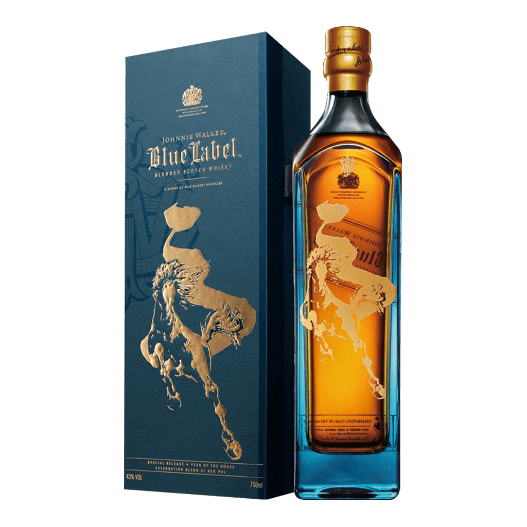 約翰走路 藍牌 馬年台灣限定版 || Johnnie Walker Blue Label Year Of The Horse