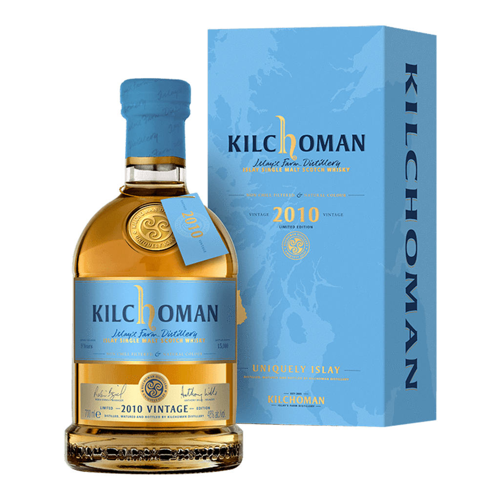 齊侯門 VINTAGE 2010 * 限量品 || Kilchoman Vintage 2010 Islay Single Malt Scotch Whisky 威士忌 Kilchoman 齊侯門