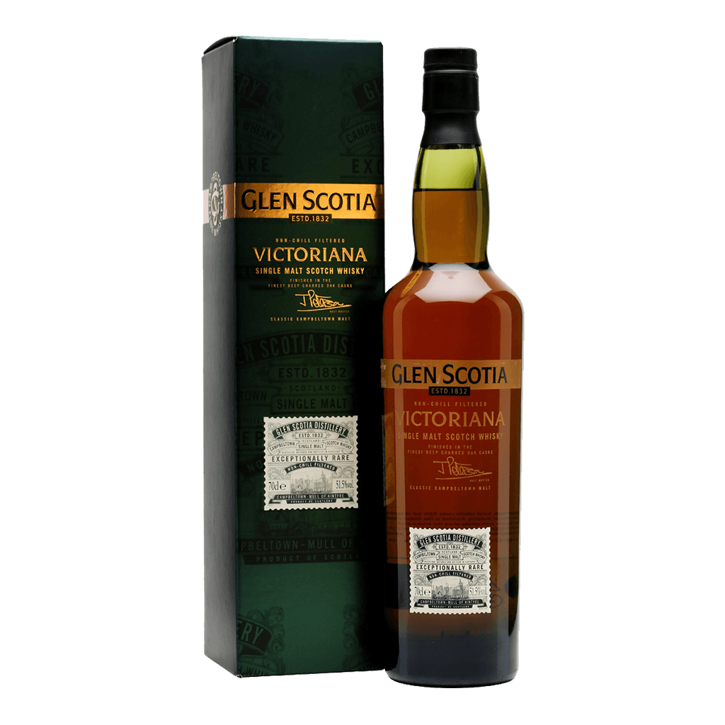 格蘭帝 VICTORIANA || Glen Scotia Victoriana Single Malt Scotch Whisky 威士忌 Glen Scotia 格蘭帝
