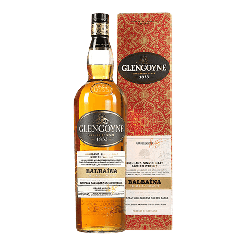 格蘭哥尼 巴貝納威士忌 || Glengoyne Balbaina Travel Retail Exclusive Highland Single Malt 威士忌 Glengoyne 格蘭哥尼