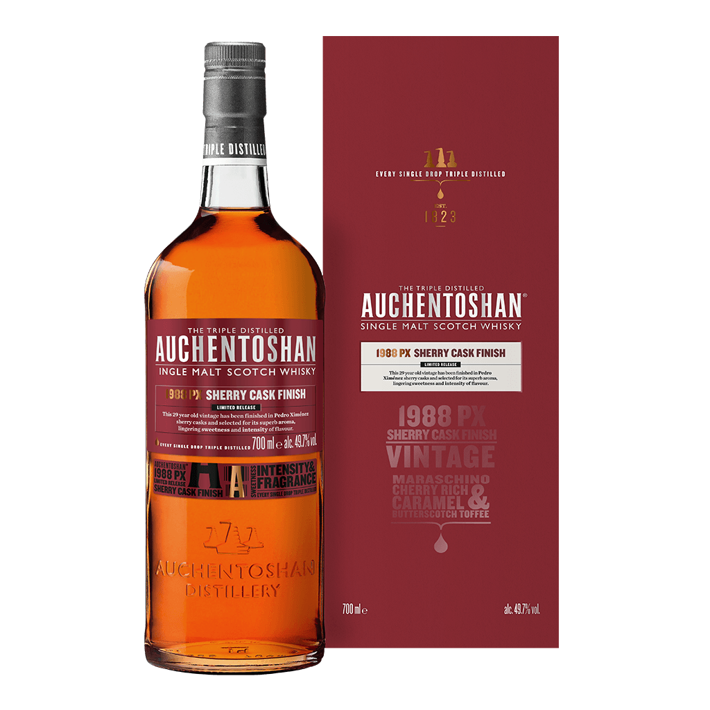 歐肯特軒 29年 1988PX雪莉桶(限量品) || Auchentoshan 1988Px Sherry Cask Finish Limited Release Single Malt Scotch Whisky 威士忌 Auchentoshan 歐肯特軒