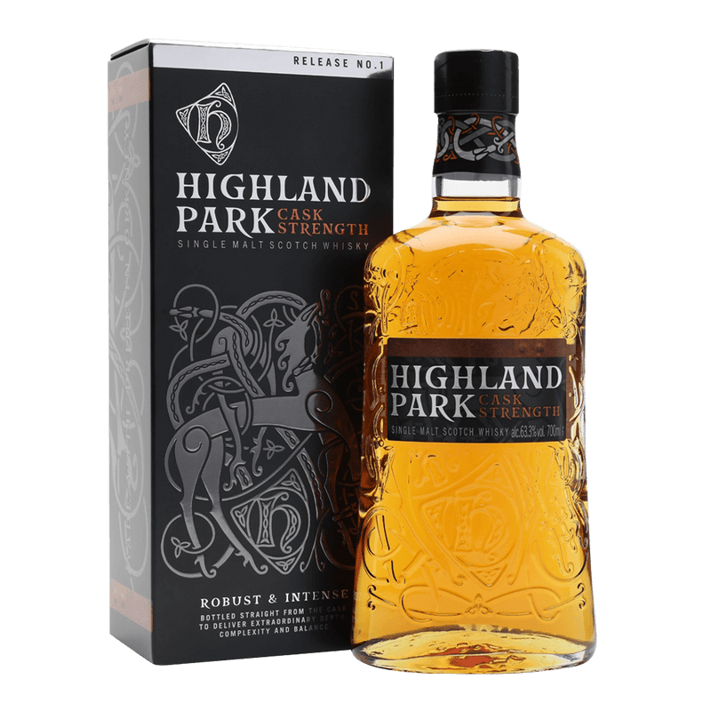 高原騎士原酒NO.1*限量品 || HIGHLAND PARK CASK STRENGTH RELEASE NO.1 威士忌 Highland Park 高原騎士