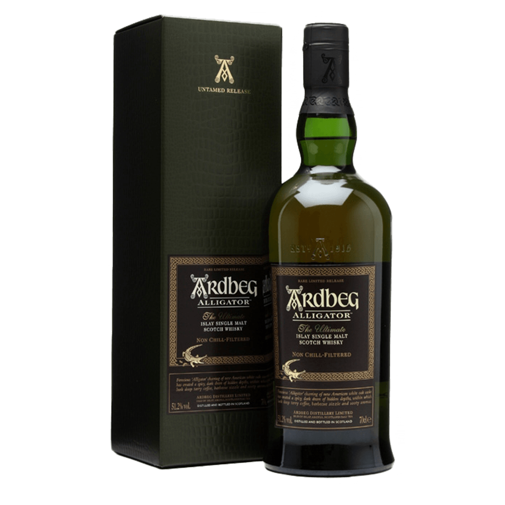 雅柏艾雷 ALLIGATOR鱷魚 || Ardbeg Alligator Islay Single Malt 威士忌 Ardbeg 雅柏