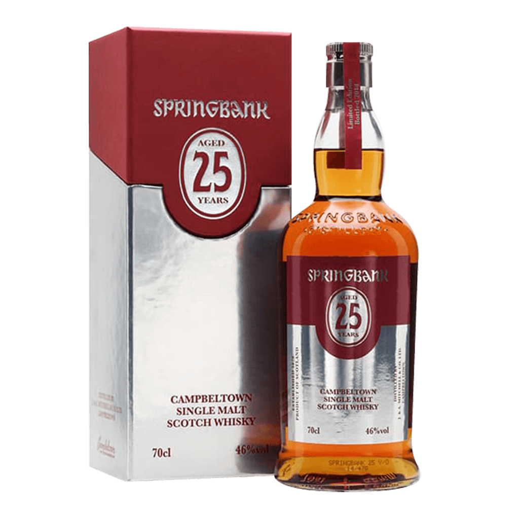 雲頂25年頂級單一威士忌 || Springbank Aged 25Y Campbeltown Single Malt 威士忌 Springbank 雲頂