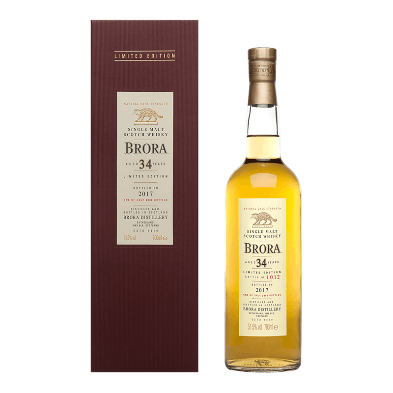 Brora 34年 (特別發售) || Brora 34 Years Distilled 1982 (Special Release) 威士忌 Brora 布朗拉
