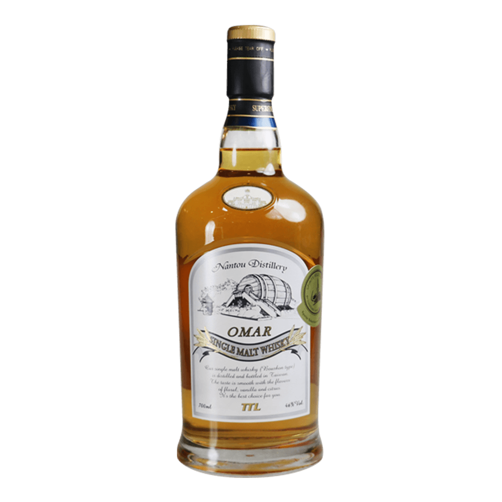 OMAR(波本花香) || Omar Nantou Distillery Single Malt Whisky 威士忌 Omar 威士忌