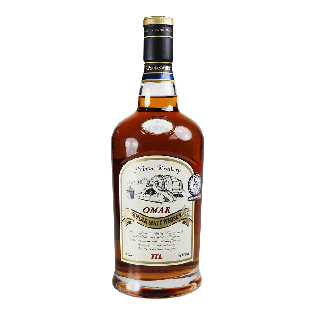 OMAR 雪利果乾 || Omar Nantou Distillery Single Malt Whisky 威士忌 Omar 威士忌