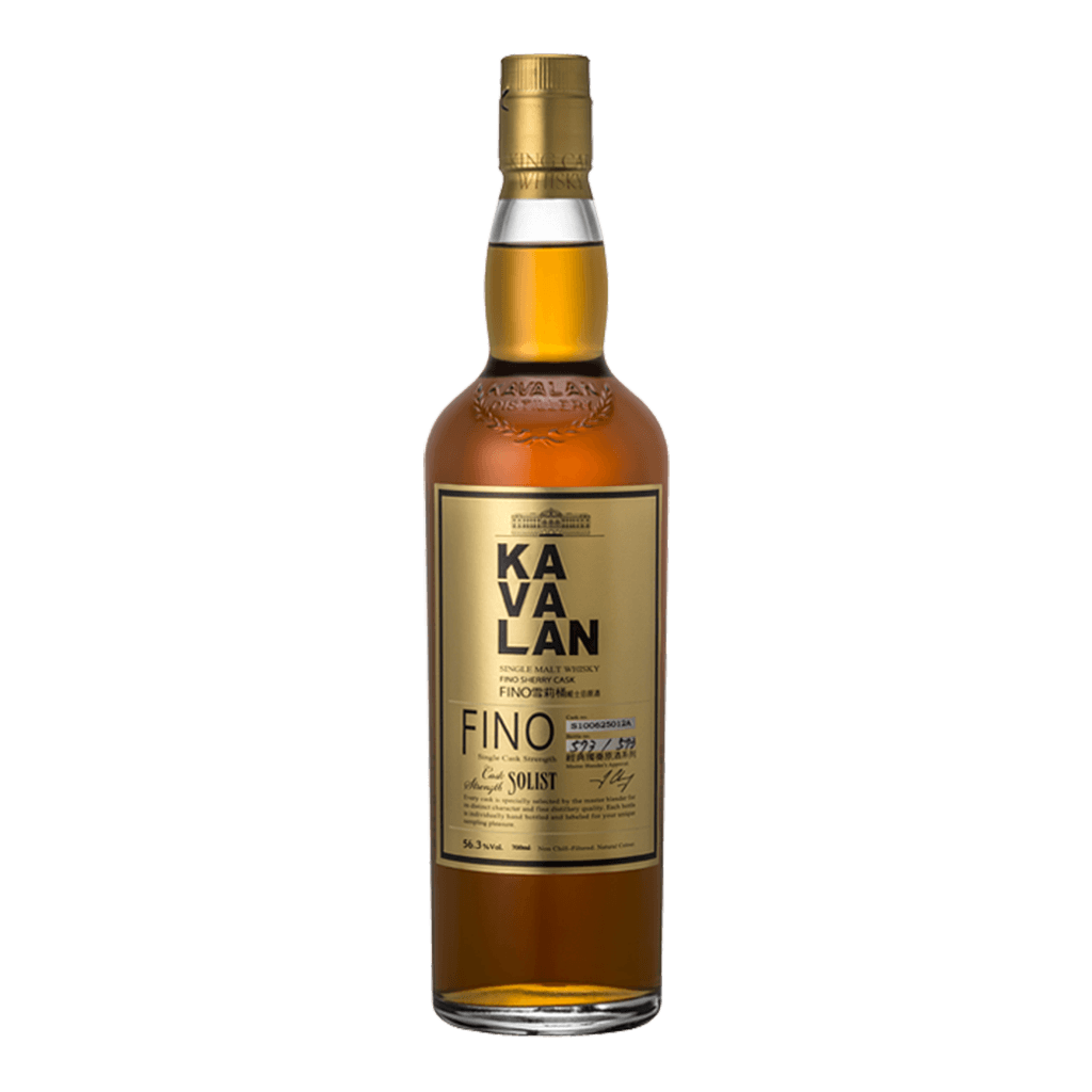 噶瑪蘭 經典獨奏FINO雪莉桶原酒 || Kavalan Solist Fino Single Cask Strength Single Malt Whisky 威士忌 Kavalan 噶瑪蘭