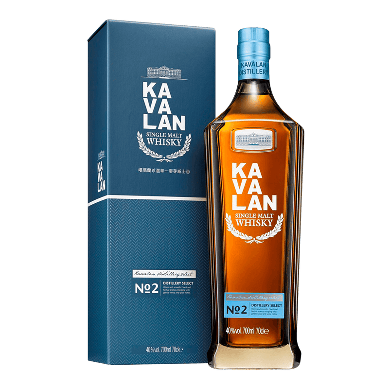 噶瑪蘭 珍選NO.2 || Kavalan Distillery Select No.2 Single Malt Whisky 威士忌 Kavalan 噶瑪蘭