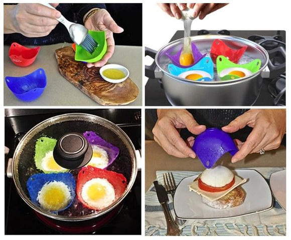 Silicone Egg Poacher (2 pack)