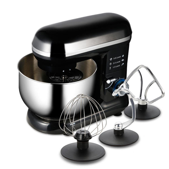 Stand Mixer with Mixing Bowl and Attachments
