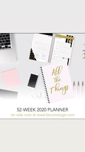 MrsKevOnStage All things Things Big Bundle #2 (Shirt, Notebook, Planner, Book)