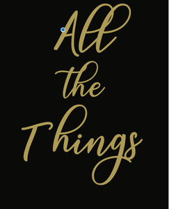 All the Things Notebook (PREORDER)