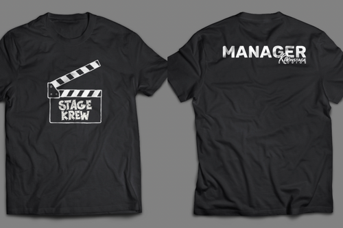 Stage Krew Clapper Logo T-Shirt (Manager)