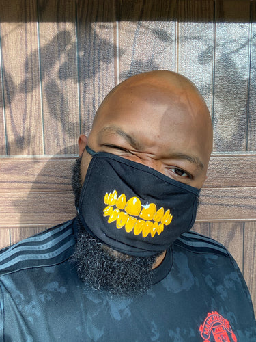 Gold Grill Mask