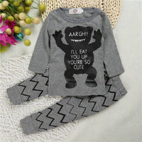 100% Cotton Newborn  Two-Piece Set