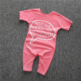 Little Girls Short Sleeve Romper