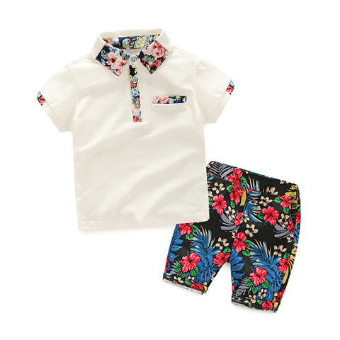 Boys Polo Shirt and Shorts