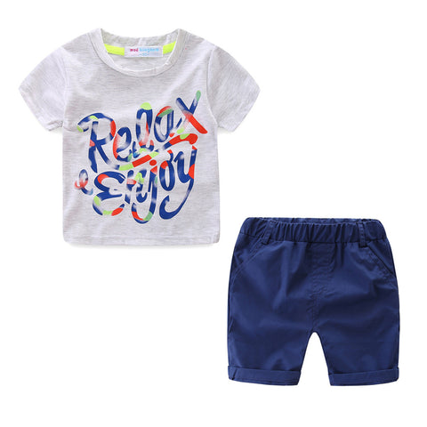 Boy's Relaxing Short Set