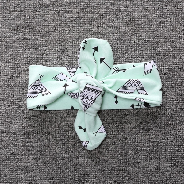 Toddler Girls Printed Headband