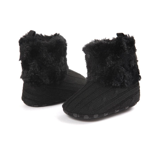 Cute Soft Black Boots