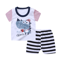 Dinosaur Shorts Set