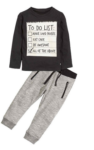 To Do List Outfit..