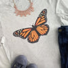 +butterfly +teacher +tee