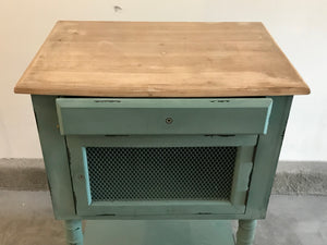 Vintage Hand Painted Farmhouse Table