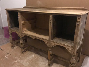 Vintage Buffet Table