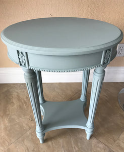 Hand Painted Ethan Allen Table