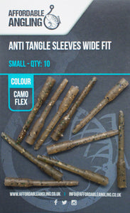Anti Tangle Sleeves Wide Fit- Camo Flex Small